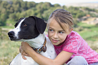 Great Companions Fund - image of dog with girl